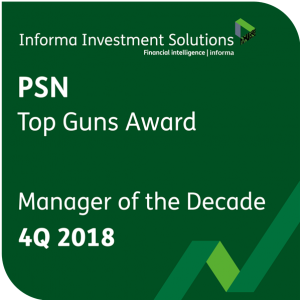 Navigator® International/ADR is recognized as Manager of the Decade by PSN/Informa